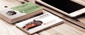 визитки с красив дизайн